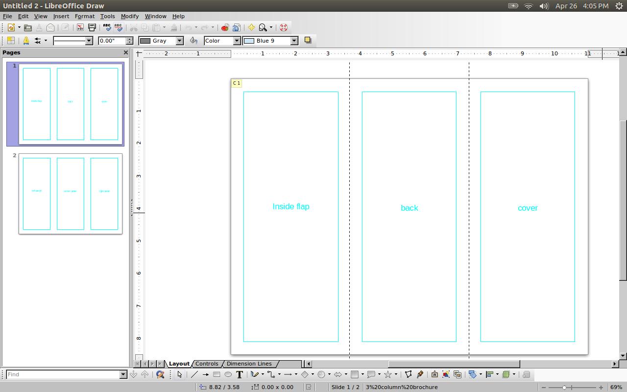 LO Draw Screenshot